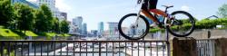 Trialshow, Projekte und Fahrrad fahren