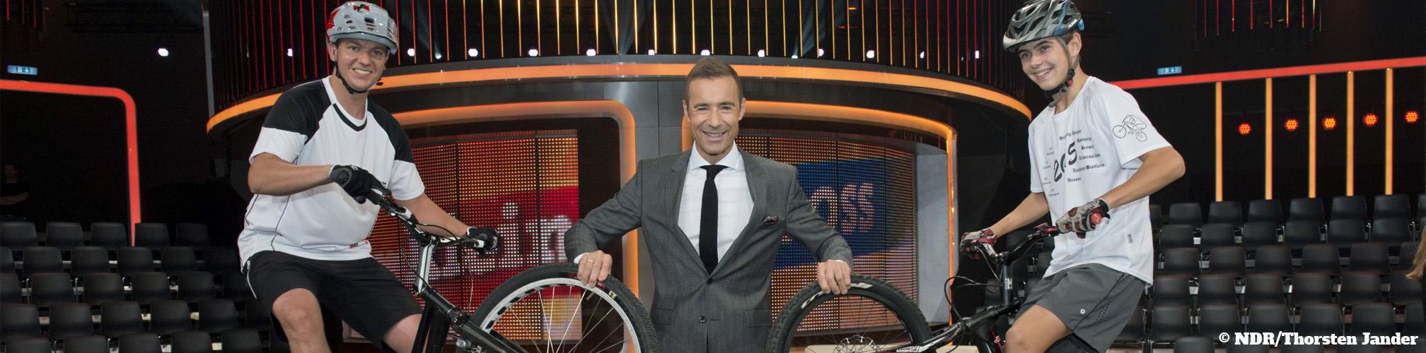 TV-Show - Klein gegen Groß