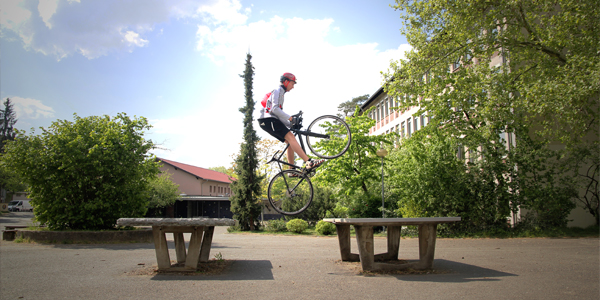 Road Bike Parkour 1