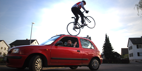 Road Bike Parkour 3